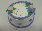 <b>8' Cassada Cake  (Also Available In 6' 10' 12')</b>