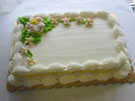 <b>1/4 Sheet Cake  (Also Available In Larger Sizes)</b>
